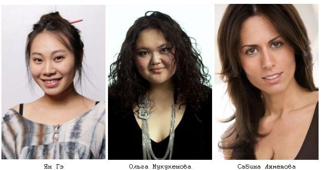 Актрисы фильма «Норвег», играющие роль уборщиц