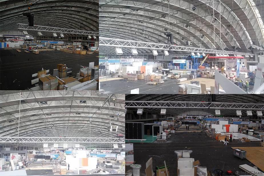 строительство выставочных стендов выставки ISSA/INTERCLEAN 2014 в Амстердаме