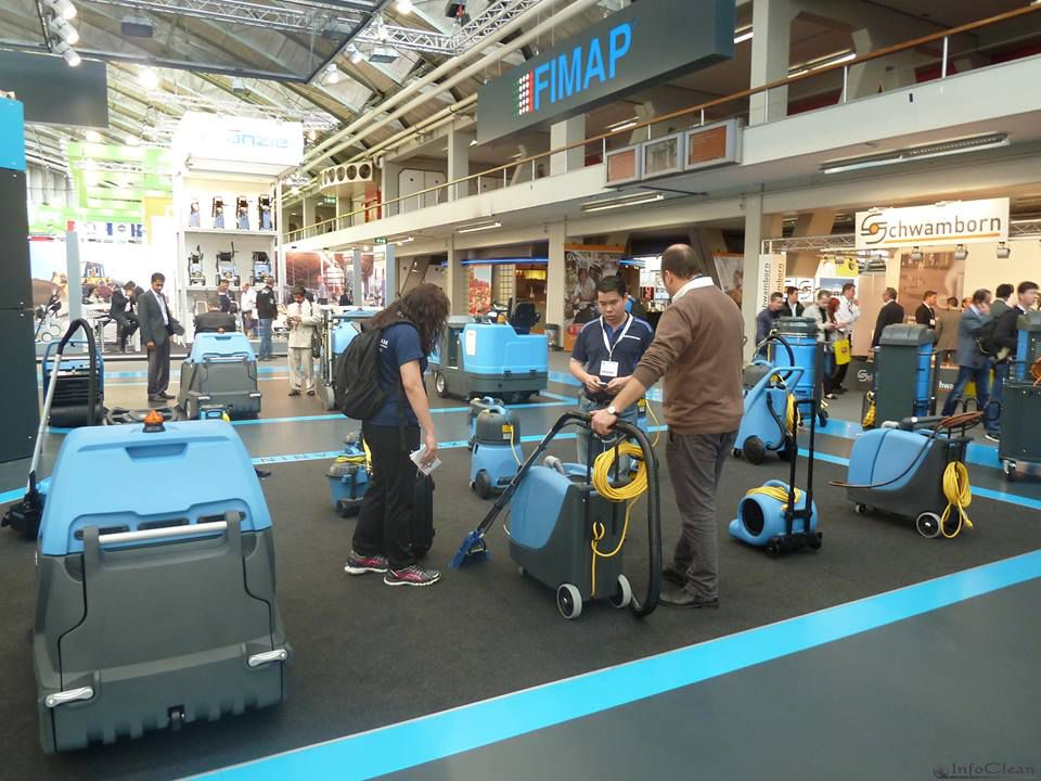 Стенд компании Fimap на выставке ISSA/INTERCLEAN 2014 в Амстердаме