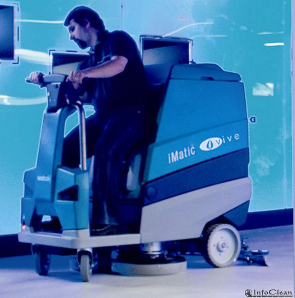 Поломоечная машина IMatic Vive от Alpheios