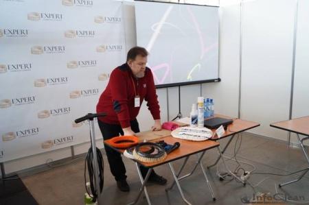 Тарас Дударь на выставке Cleaning Expo Ural 2015