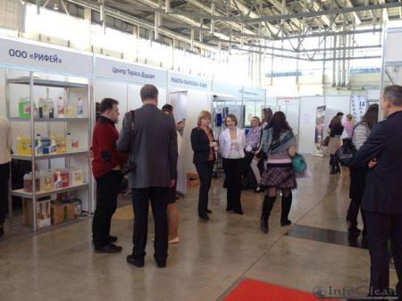 на выставке Cleaning Expo Ural 2015