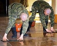 Клининг в армии: профессиональных уборщиков заменят бытовыми пылесосами