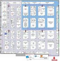 Опубликована схема размещения стендов 16-ой Международной московской выставки CleanExpo