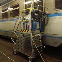 В России запатентуют уникальный уборочный комплекс, разработанный по заказу клинеров московского метрополитена